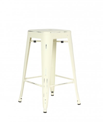 <p>Outdoor Furniture Contemporary Collection – Laredo Stool – Antique Cream Finish.</p> <p> </p> <p>Stool – High or Low available – metal seat & stackable, designed for indoor and outdoor use capturing essential features such as lightness, stability, functionality, ergonomics and care for the environment. Comfort, Modernity, style and durability</p>