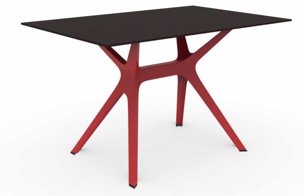 Outdoor Furniture Contemporary Collection – Lima Commercial Dining Table