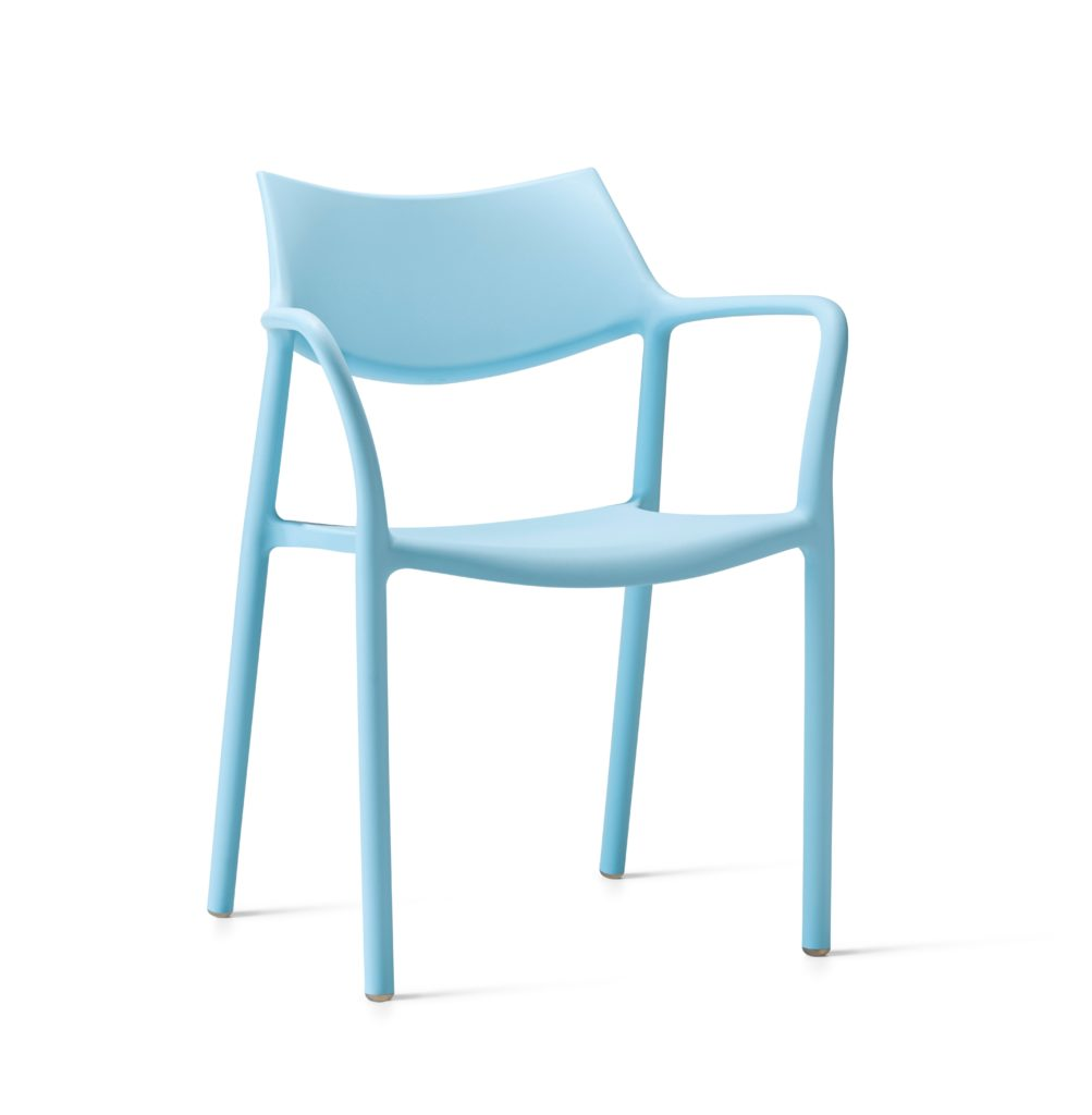 Contemporary Collection Madera Outdoor Dining Chair available in various colours