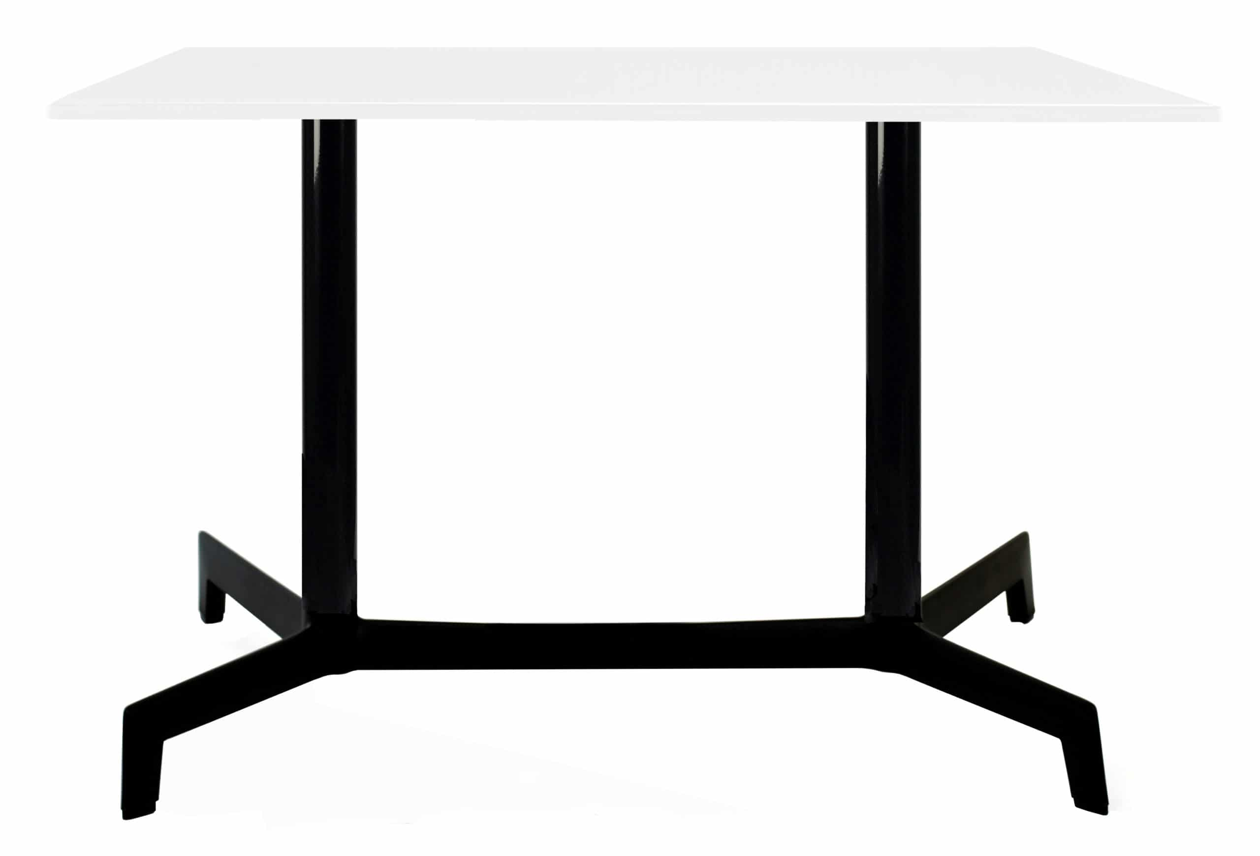 <p>Outdoor Furniture Contemporary Collection – Navarre Commercial Dining Table – Double Pedestal – Black Base.</p> <p> </p> <p>Table for indoor and outdoor use. Combine with tabletop and chairs of your choice.</p> <p> </p> <p>Adaptable to any environment being designed by architects. Capturing essential features such as elegance lightness, functionality, ergonomics and care for the environment.</p>