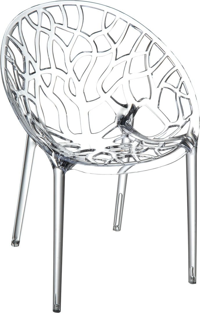 <p>Outdoor Furniture Contemporary Collection – Rancho Chair – Transparent.</p> <p> </p> <p>Chair – bucket style designed for indoor and outdoor use capturing essential features such as clear identity, lightness, stability, functionality, ergonomics and care for the environment. Comfort, Modernity, style and durability</p>