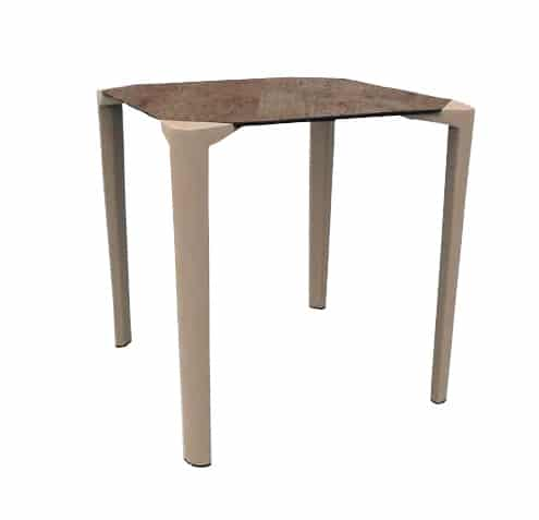 <p>Outdoor Furniture Contemporary Collection – Todas Commercial Dining Table.</p> <p> </p> <p>Table for indoor and outdoor use combinable with HPL tabletop in different sizes and available as 3 or 4 leg version – depends on size of tabletop.</p> <p> </p> <p>Adaptable to any environment being designed by architects. Capturing essential features such as elegance lightness, functionality, ergonomics and care for the environment</p>
