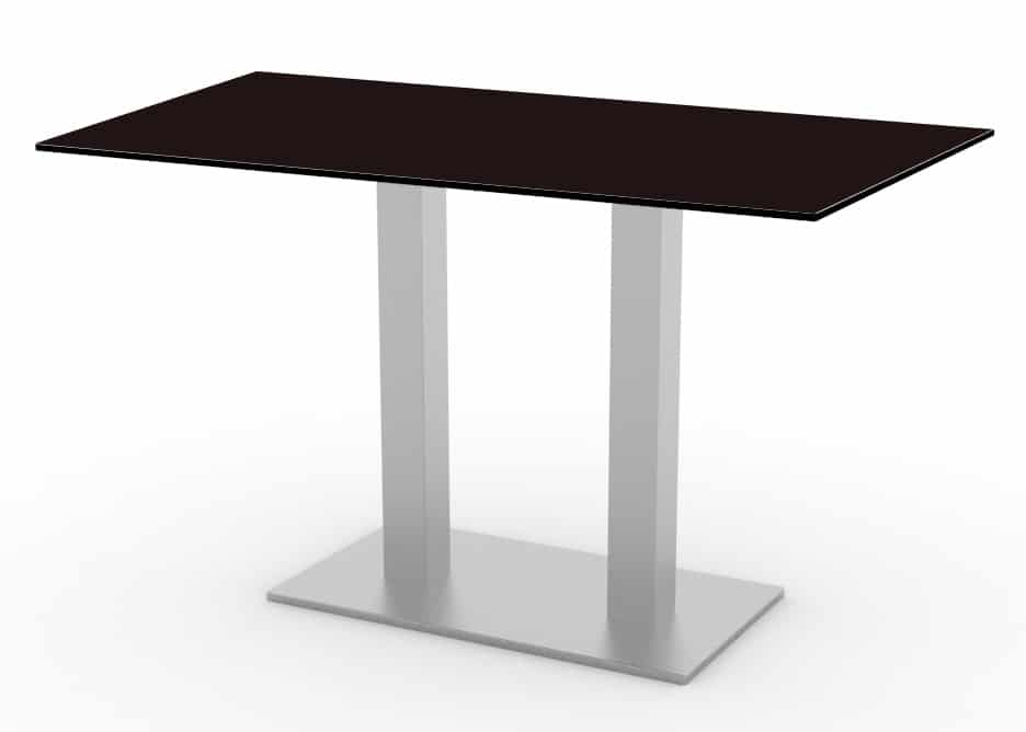<p>Outdoor Furniture Contemporary Collection – Toro Commercial Dining Table – Double Pedestal.</p> <p> </p> <p>Table for indoor and outdoor use. Combine with chairs/stools of your choice.</p> <p> </p> <p>Adaptable to any environment being designed by architects. Captures essential features such as elegance lightness, functionality, ergonomics and care for the environment.</p>