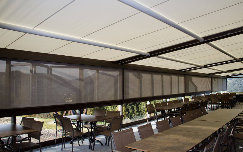 <p>Markilux Awnings & Solar Protection Projects – Bespoke Design – growing capacity</p> <p></p> <p>Growing your restaurant capacity without massive overheads with Markilux Bespoke designed Projects</p>