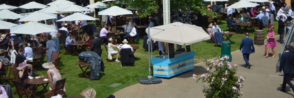 Mobile Bespoke Build Ice Cream Cart for Jude's Ice Cream