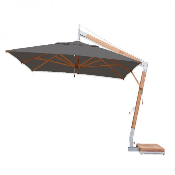 <p>Parasols – Cantilever Capri – Rectangular Taupe</p> <p>Elegant Stylish smooth look bamboo umbrellas offering the ideal shade solution, providing comfort and protection from the environmental conditions be it blazing hot sunshine or rain.</p> <p>Popular not just within the hospitality industry and associated sectors, but also the parasol of choice of commercial and residential customers who demand high quality and style</p> <p>Impressive & versatile and designed to enhance any outdoor area</p>