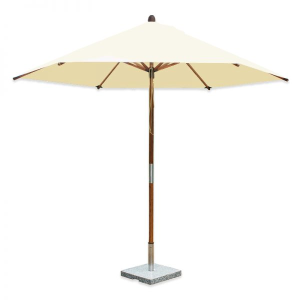 <p>Parasols Kara – Round natural 2m Bamboo Lightweight Centre Pole Garden Shade Umbrella</p> <p></p> <p>Premium, stylish, lightweight, and beautiful high-grade natural laminated bamboo centre pole commercial & residential parasol offering the ideal shade solution providing comfort and protection from the environmental conditions be it blazing hot sunshine or pouring rain.</p> <p></p> <p>Suitable for commercial settings, but equally at home in residential settings too – lightweight size enabling customers to experience a continental atmosphere</p>